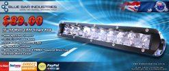 "10"" 4900 lumen 10 x 5 watt CREE Single Row Combo Beam Light Bar-0"