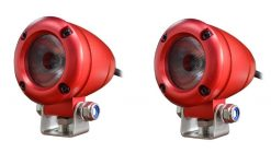 2 x 2 inch 1080 lumen 10 watt Red XML-T6 CREE LED Aluminium Flood Light-0