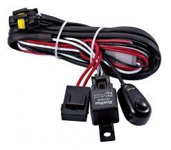Dual Light Wiring Harness Loom 12 volt 40 amp Relay LED HID Light Bar Fog