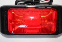 Side Marker LED Large Red Waterproof 400mm Wire 12 / 24 volt