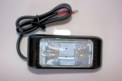 Clear Side Marker LED Multivolt Small Size-0