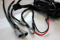 12 volt Heavy Duty Two Way Wiring Loom Harness 60 amp Relay 40 amp Fuse 3 metres