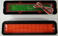 Red Stop / Park LED Tail Light x 2 Multivolt-689