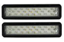 White LED Reverse Tail Light x 2 Multivolt-0