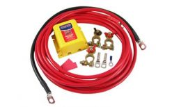 DUAL BATTERY LOW VOLTAGE KIT WITH PARALLEL SWITCH-767