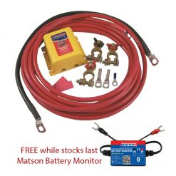 Matson MABP027 Dual Battery Kit Promo