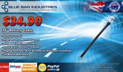 36 INCH BATTERY CABLE 36 INCH 91.5 CM-0
