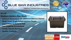 MEDIUM BATTERY BOX BLACK-0