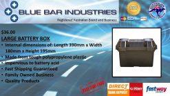 LARGE BLACK BATTERY BOX-0