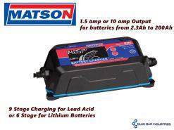 Matson AE1000E 12 volt Battery Charger