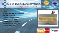 DHC 2 & 12 Amp Battery Charger 12 Volt, 2 & 12Amp-0