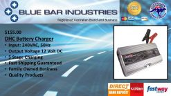 DHC Battery Charger 24 Volt, 4 Amp LED Display-0