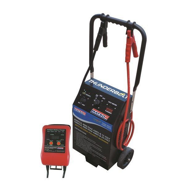 Thunderbolt Industrial 12 24 Volt Jump Start Ma8000