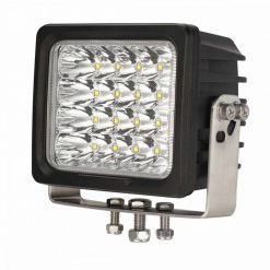 "6.5"" 100w CREE Square Heavy Duty Work Light Front View"