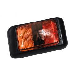 LED Large Red Amber Side Marker 12 / 24 volt