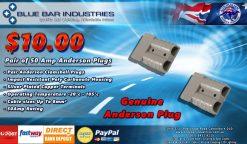 Pair 50Amp Anderson Plugs-0