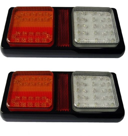 2 x Indicator/Stop/Tail/Reverse Tail Lights-1472