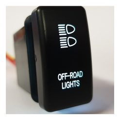 Ford Ranger / Mazda BT50 Off Road Push Button Switch White Back Light