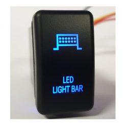 Ford Ranger / Mazda BT50 Led Light Bar Push Button Switch Blue Backlight