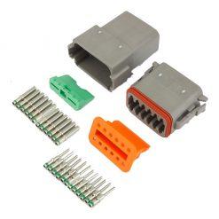 12 Pin Deutsch Plug Connector Kit
