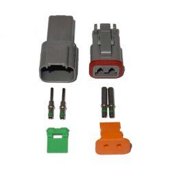 2 Pin Deutsch Plug Connector Kit