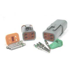 4 Pin Deutsch Plug Connector Kit