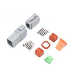 6 Pin Deutsch Plug Connector Kit