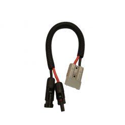 12 volt 50 amp Anderson Plug to Solar Plug Adaptor
