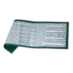 Stahlwille 10pc Double Open Ended Spanner Set