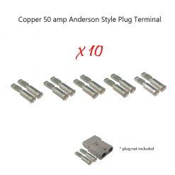 50 amp Anderson Plug Terminals x 10