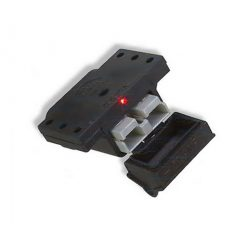 Trailer Vision 50 amp Anderson Plug Cover with LED Top Mount