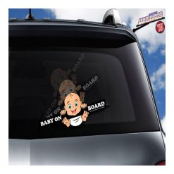 Wiper Tag Baby On Board