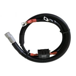 12 / 24 volt Extension Lead with Midi Fuse, 50 amp Anderson Plug and Cable Lugs